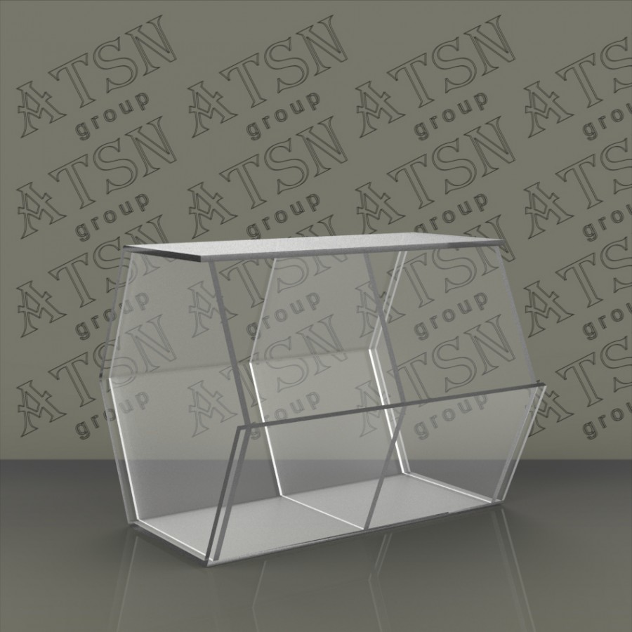 Акриловая коробка для продукции