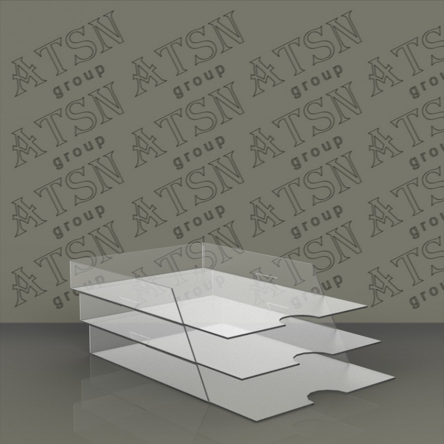 Подставка для бумаг А 4 формата в три яруса