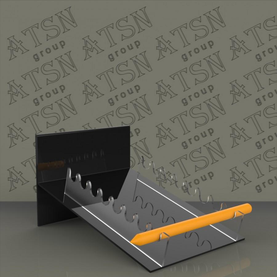 Акриловая подставка под набор карандашей