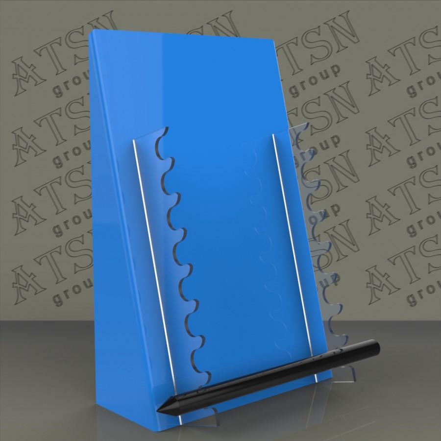 Акриловая цветная подставка под ручки