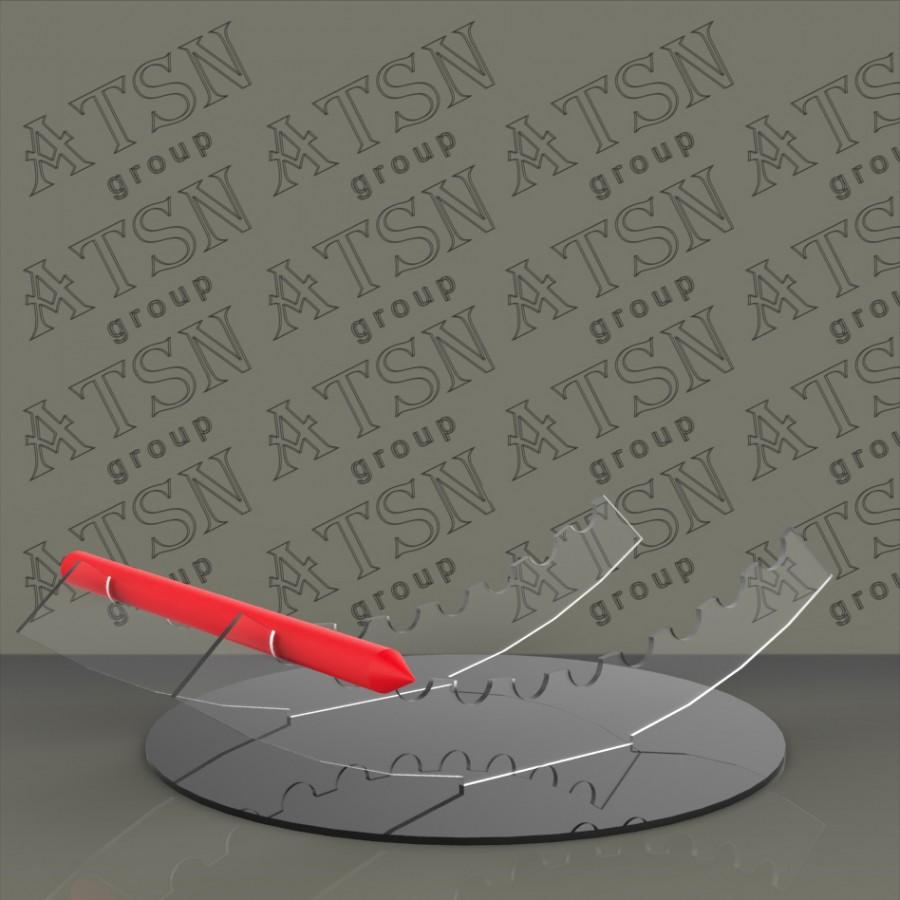 Настольная подставка под ручки, карандаши