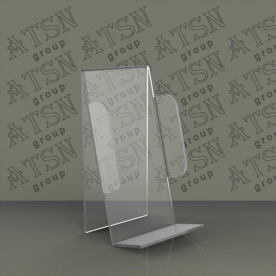 Пластиковая подставка под телефон, для витрины